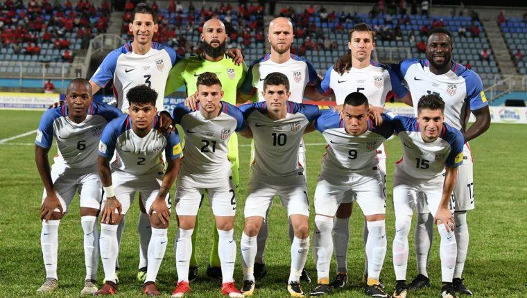 La selección de Estados Unidos no consiguió el objetivo de clasificar a Rusia. (Foto Prensa Libre: AFP)