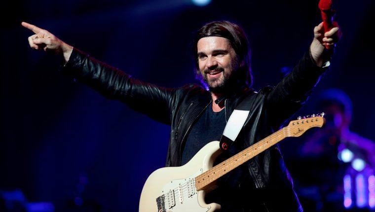 El cantante colombiano Juanes promociona su álbum Loco de amor. (Foto Prensa Libre: AP)