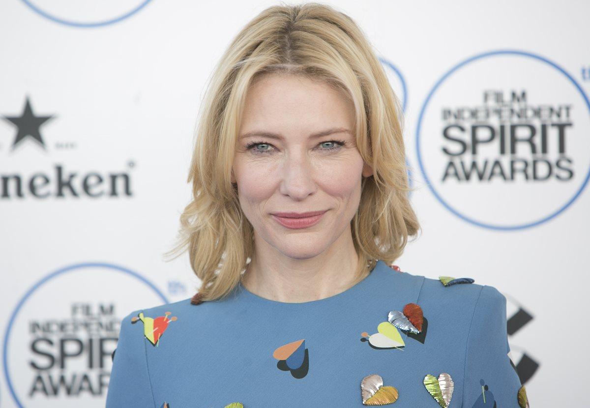 "Cate Blanchett revela haber tenido relaciones con mujeres ""muchas veces"""