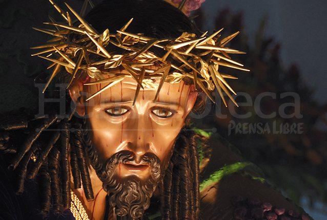 Rostro dulce de Jesús del Consuelo. (Foto: Néstor Galicia)