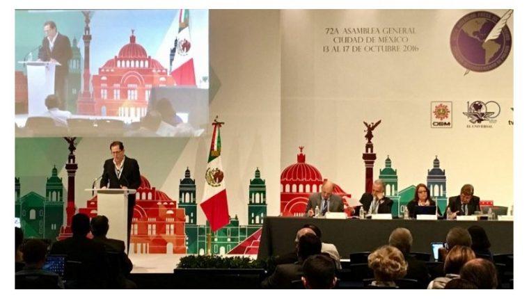 En la ciudad de México concluye la 72 Asamblea General de la Sociedad Intermericana de Prensa (SIP). (Foto Prensa Libre: SIP)