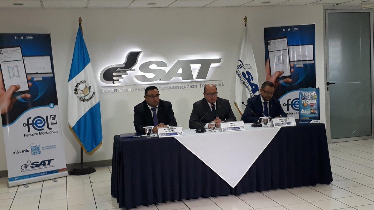 La inscripción en el régimen Factura Electrónica en Línea (Fel) ya inició y ya cuenta con la primera empresa certificadora de facturas (Foto, Prensa Libre: SAT).