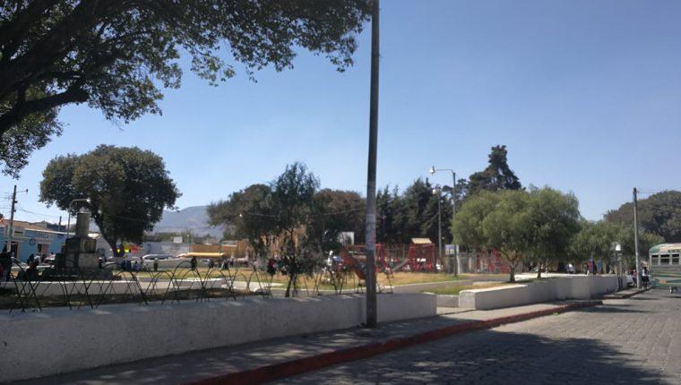 Vista del barrio El Calvario, donde se instalarán las ventas el 10 de febrero próximo. (Foto Prensa Libre: Fred Rivera)