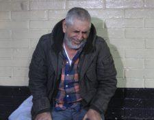 Jiménez fue capturado el 12 de enero recién pasado en un apartamento en la zona 14. (Foto Prensa Libre: Hemeroteca PL)