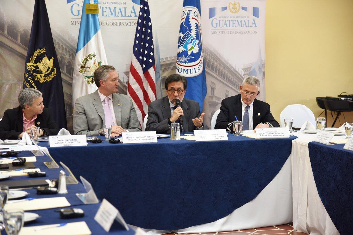 Guatemala y Estados Unidos fortalecen lazos en temas de seguridad