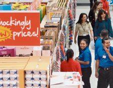 Primera tienda Save A Lot ofrece productos de marcas estadounidenses y locales. (Foto Prensa Libre: Álvaro Interiano)