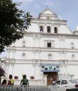 Comité y párroco solicitan apoyo para la remodelación de la iglesia de San Cristóbal Verapaz. (Foto Prensa Libre: Eduardo Sam)