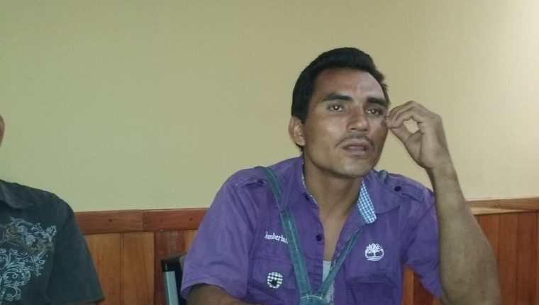 José María Antonio Reyes permaneció preso en Belice. (Foto Prensa Libre: Rigoberto Escobar).