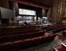 La Gran Sala del Teatro Nacional Miguel Ángel Asturias será la sede del cambio de mando. (Foto Prensa Libre: Hemeroteca PL)