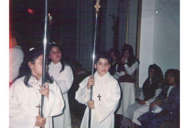 El sacerdote abusó de Jesús Romero durante 5 años. Foto: Jesús Romero.