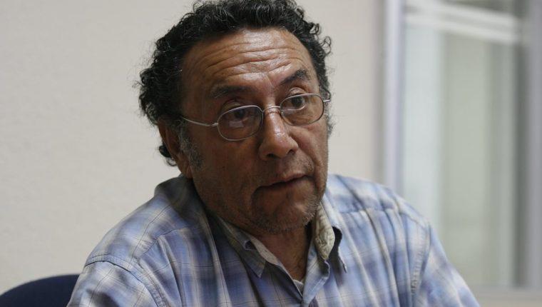 Antropólogo Carlos García Escobar (Foto Prensa Libre: Hemeroteca PL)