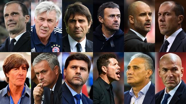 La Fifa dio a conocer la lista de nominados al mejor técnico del año para el premio The Best. (Foto Prensa Libre: Fifa)