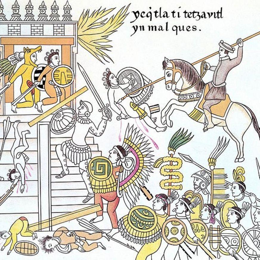 ¿Qué motivó a los conquistadores a buscar riqueza a costa de cualquier cosa? GETTY IMAGES