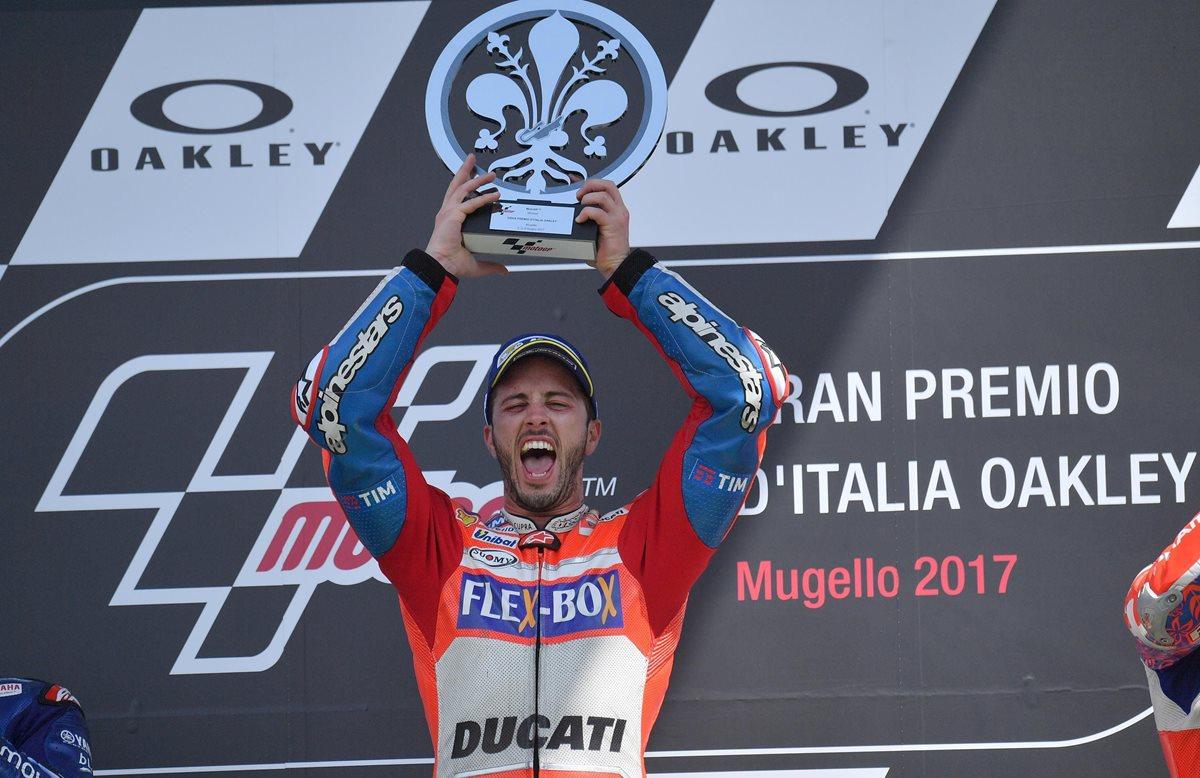 Dovizioso gana el Gran Premio de Italia por delante de Viñales