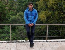 El velerista Juan Ignacio Maegli se recupera en su casa después de una cirugía en la espalda. El velerista contará con más de cinco meses para su primera competencia en el año. (Foto Prensa Libre: Gloria Cabrera)