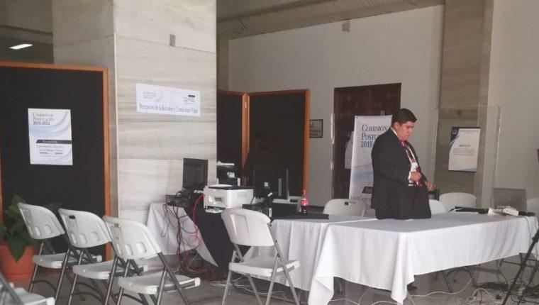 Se cerró el tercer día de convocatoria y nadie había presentado su postulación para fiscal general del Ministerio Público. (Foto Prensa Libre: Carlos Hernández)