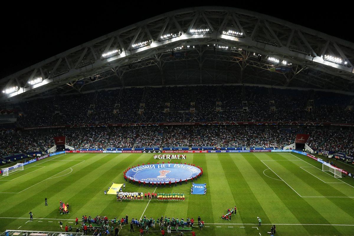 La Confederaciones es la previa del Mundial 2018 que se avecina. (Foto Prensa Libre: EFE)