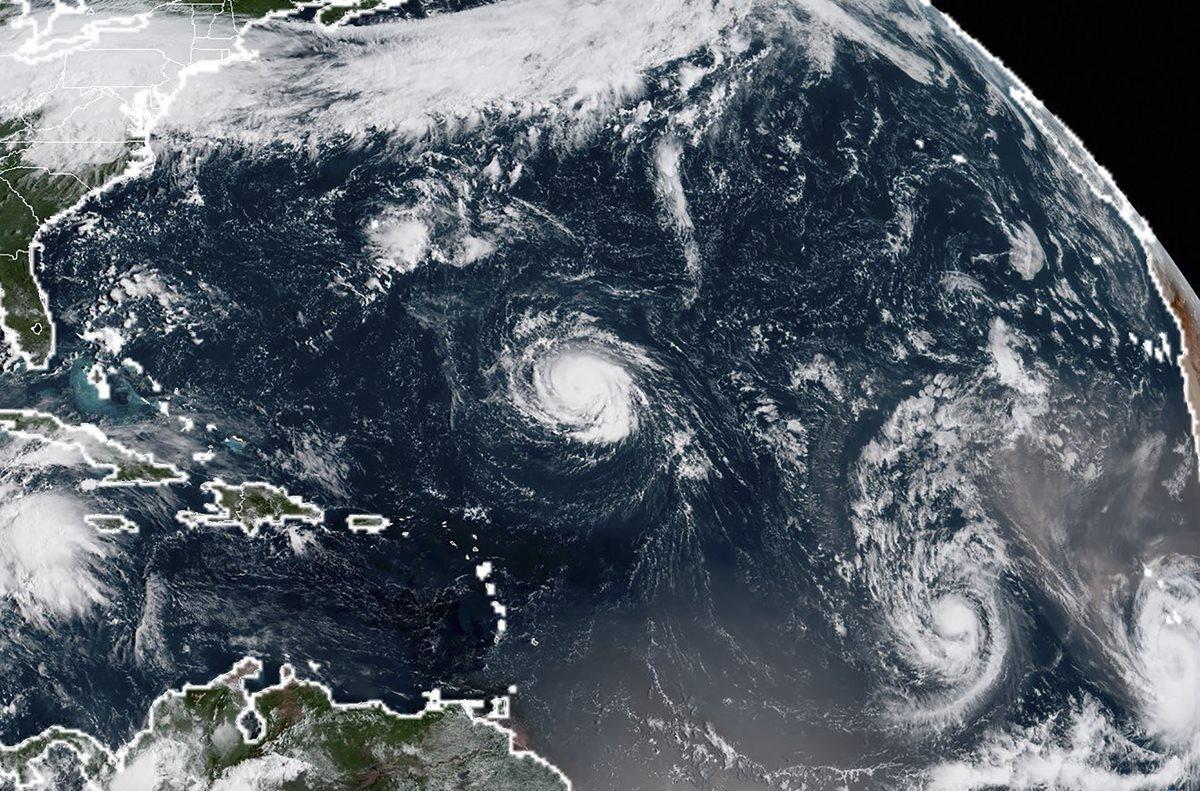 Costas de Estados Unidos en estado de emergencia por Huracán Florence
