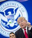 Donald Trump recriminó a los países de Centroamérica y México su pobre lucha contra el narcotráfico. (Foto Prensa Libre: EFE)