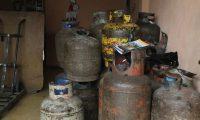 El Ministerio de Energía y Minas anunció un aumento de precio en el gas propano que no está autorizado, según las autoridades el precio puede oscilar entre los Q 90 y los Q 125 en el cilindro de 25 libras. Fotos: Edwin Bercián  07/06/2016