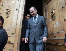 El exdiputado Pedro Muadi renuncio a su curul, el jueves último a un día que la CSJ le retirara la inmunidad. (Foto Prensa Libre: Hemeroteca PL)