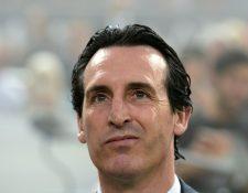 El técnico español Unai Emery dejará el cargo al concluir el torneo. (Foto Prensa Libre: AFP)