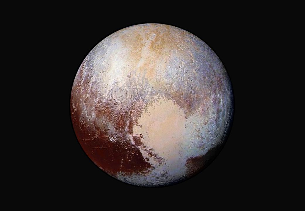 El corazón gélido de Plutón podría esconder un océano