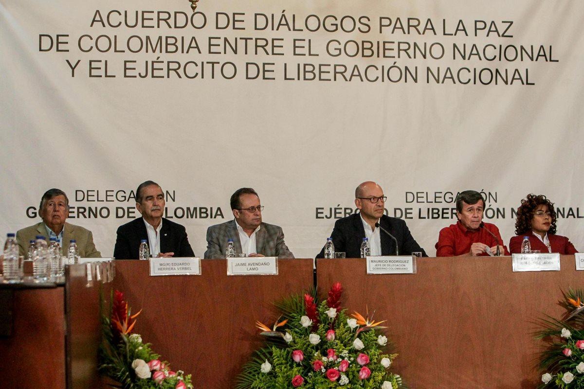 Gobierno colombiano y ELN comenzarán negociaciones el 27 de octubre