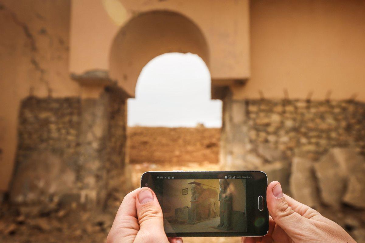 Lo que quedó de Nimrud después de 20 meses de Isis