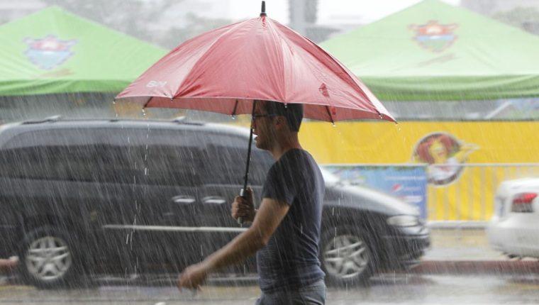 Las lloviznas prevalecerán en el territorio nacional. (Foto Prensa Libre: Hemeroteca PL)