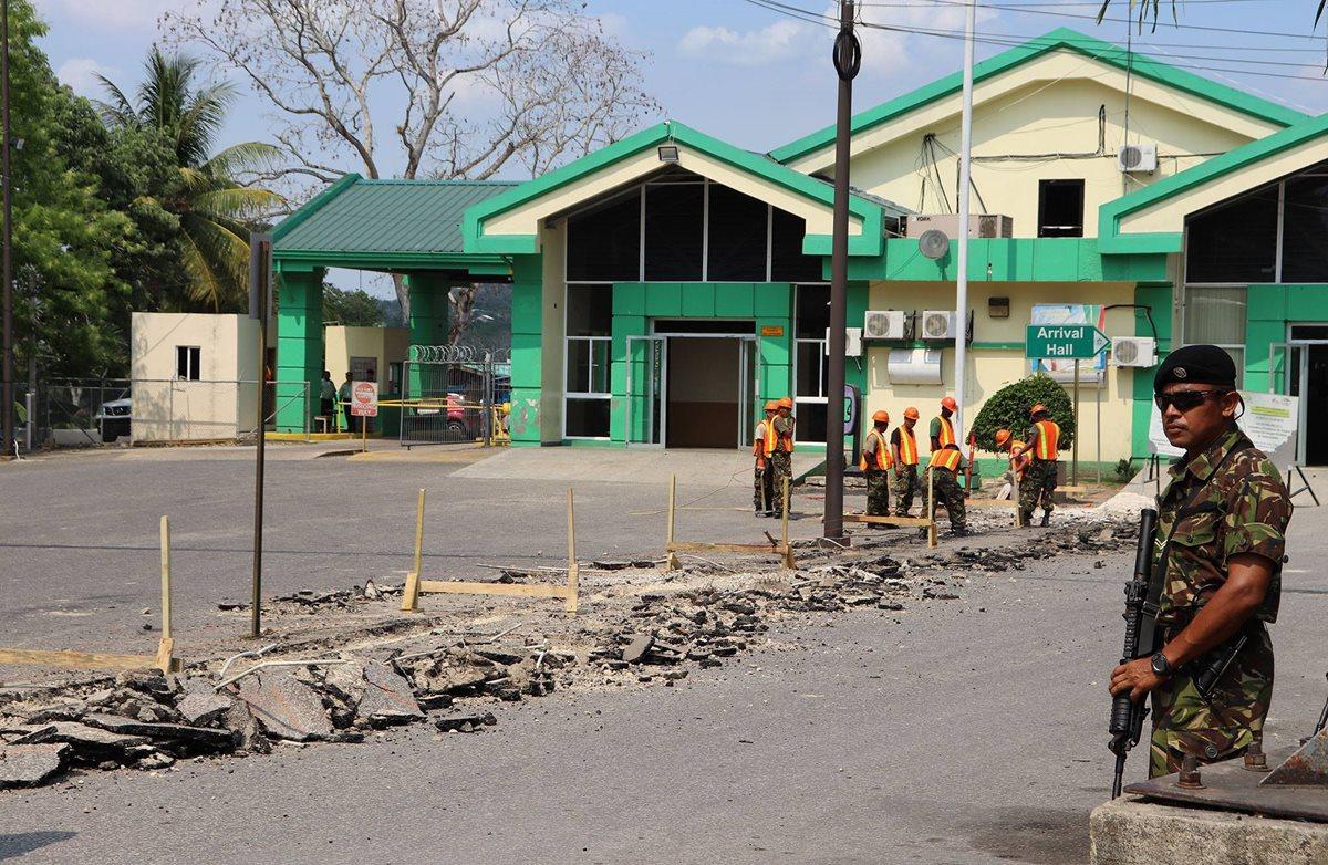 Belice construye valla fronteriza en área que comparte con Guatemala