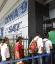 Recaudo tuvo un leve aumento a lo que se había proyectado para enero de 2016. (Foto Prensa Libre: Hemeroteca PL)