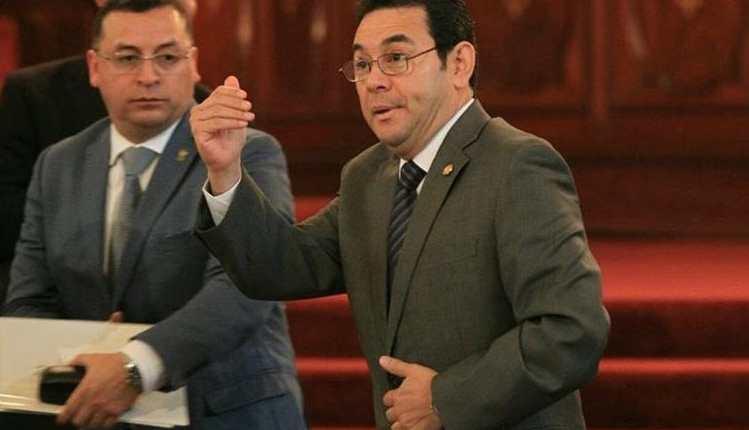 La Usac considera que el presidente Morales no tiene una política de comunicación. (Foto Prensa Libre: Hemeroteca PL)