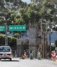 Arco que construye la Municipalidad de Mixco en la entrada principal a la zona 1. (Foto Prensa Libre: Óscar Felipe Quisque)