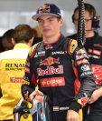 Max Verstappen cumplió 18 años y tiene permiso para conducir auto en carretera. (Foto Prensa Libre: AFP)