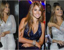 Antonella Roccuzzo ha sido el amor de Lionel Messi desde su niñez. (Foto Prensa Libre: Hemeroteca PL)