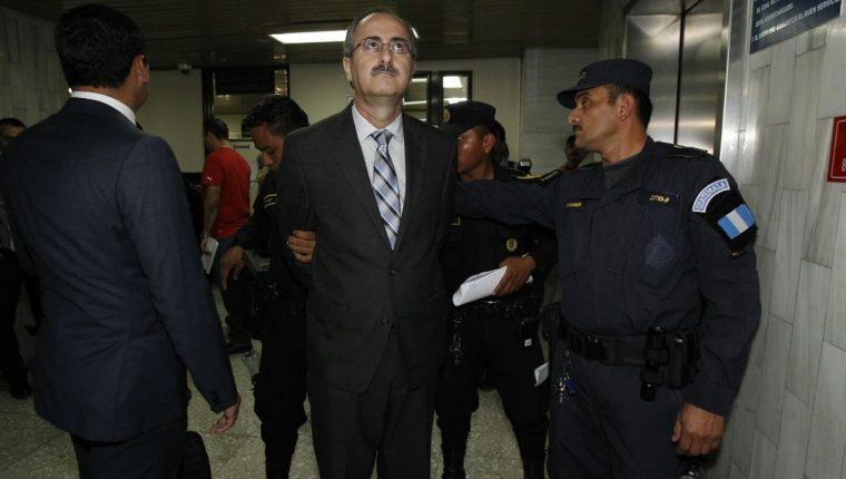 El Ministerio Público imputa a Pedro Muadi los delitos de peculado por sustracción y asociación ilícita. (Foto Prensa Libre: Pablo Raquec)