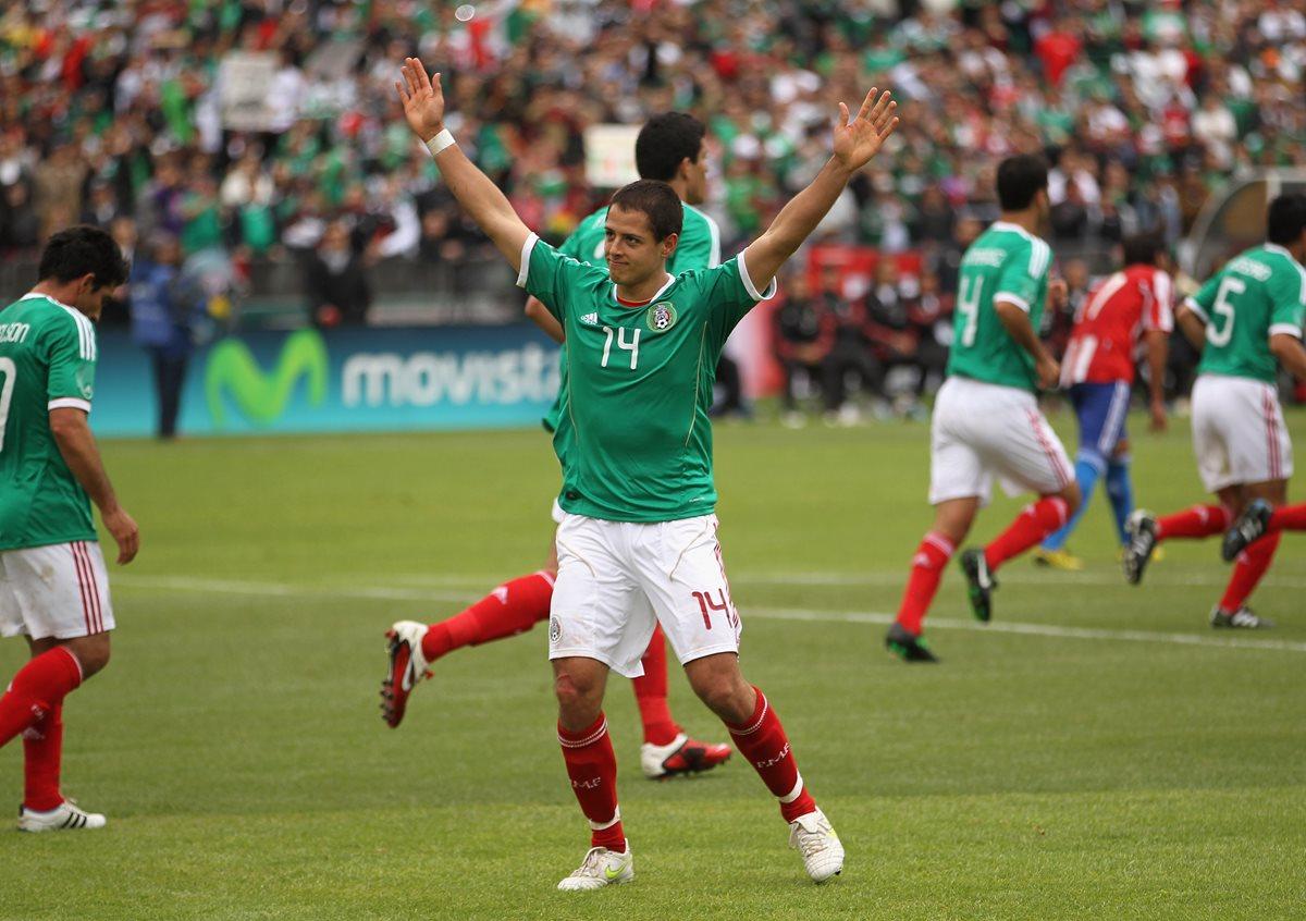 El delantero mexicano Javier Hernández asegura que no saldrá del West Ham. (Foto Prensa Libre: Hemeroteca PL)