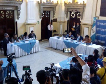 La comisión específica no pudo obtener informes del MP debido a que el expediente del caso por la compra del edificio del MP se encuentra en reserva. (Foto Prensa Libre: Óscar Rivas)