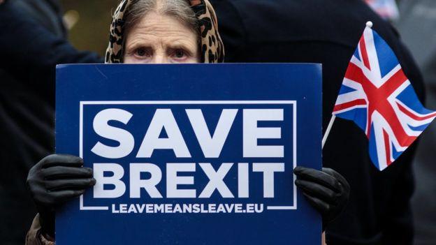 Algunos ven la situación como una oportunidad de evitar el Brexit. GETTY IMAGES