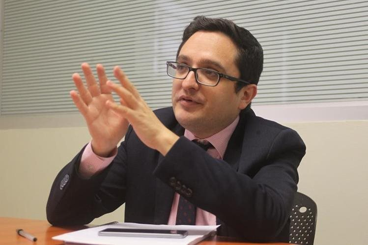 Juan Francisco Sandoval, jefe de la Fiscalía Especial contra la Impunidad del MP. (Foto Hemeroteca PL)