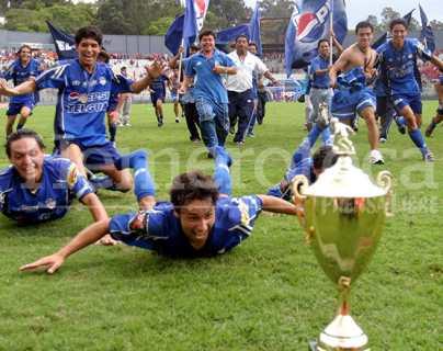 Cobán Imperial recuerda el día que conquistó el título de monarca del futbol nacional