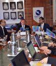 La reunión se llevó a cabo en la sede de la Secretaría de Integración Económica Centroamericana (Sieca). (Foto Prensa Libre: Cortesía Mineco)