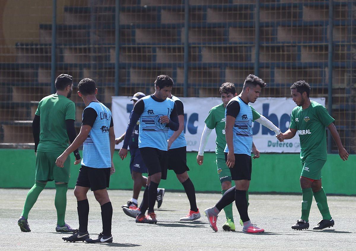 Petapa se divierte con Chimaltenango en un amistoso en el que probó sus nuevas armas para el Clausura 2018
