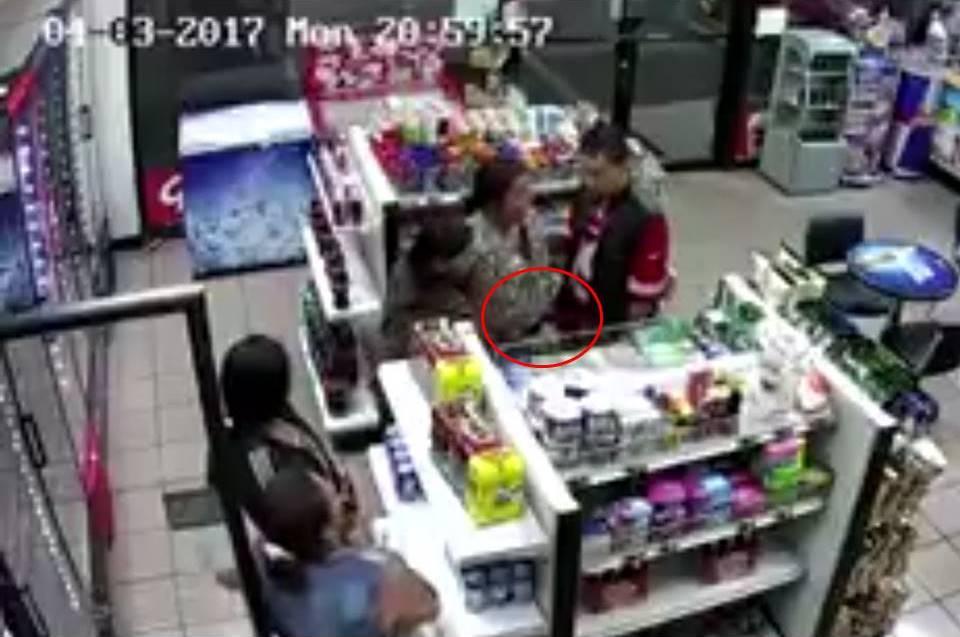 Delincuentes son grabados cuando roban tienda en Xela