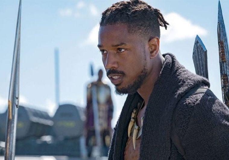 Michael B. Jordan en el papel de Erik Killmonger en Black Panther (Foto Prensa Libre: Marvel Studios).