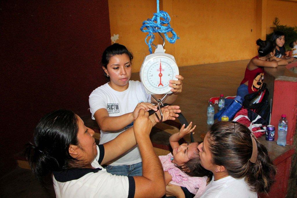 Aumentan casos de menores que padecen desnutrición en Retalhuleu