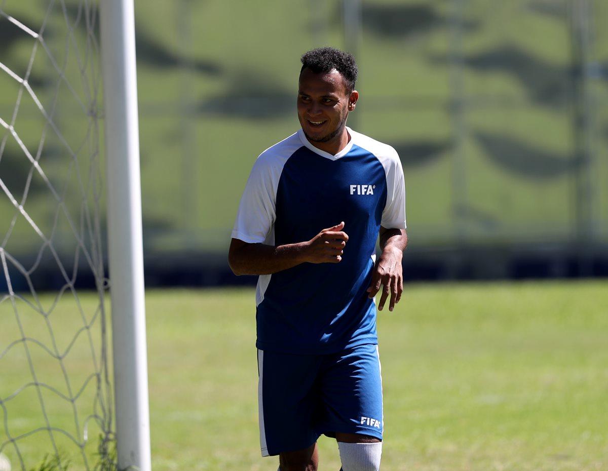 José Márquez se vuelve a perder un juego con la Bicolor. Esta vez es por una lesión. (Foto Prensa Libre: Carlos Vicente)