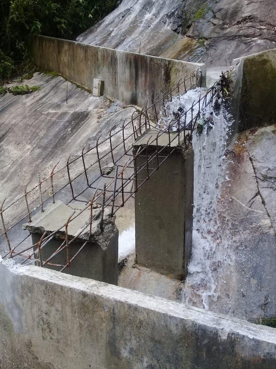 La Hidroeléctrica Sacja fue atacada por primera vez hace meses, según un directivo de la empresa. (Foto, Prensa Libre: Cortesía).