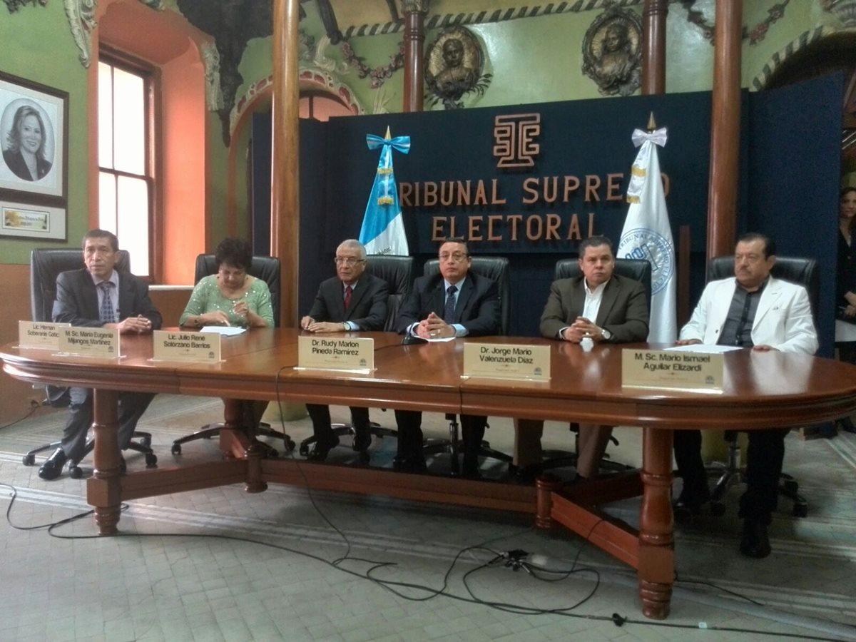 TSE oficializa elección presidencial